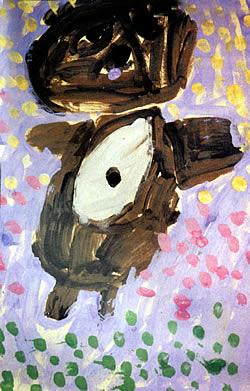 Bear painting bright ring publishing